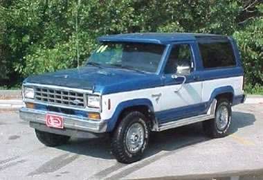 Ford Bronco II Parts